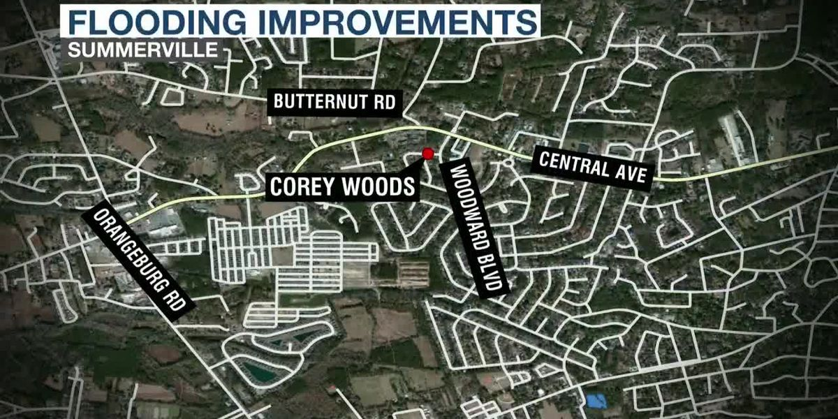 VIDEO: Summerville's Corey Woods neighborhood could see flood improvements