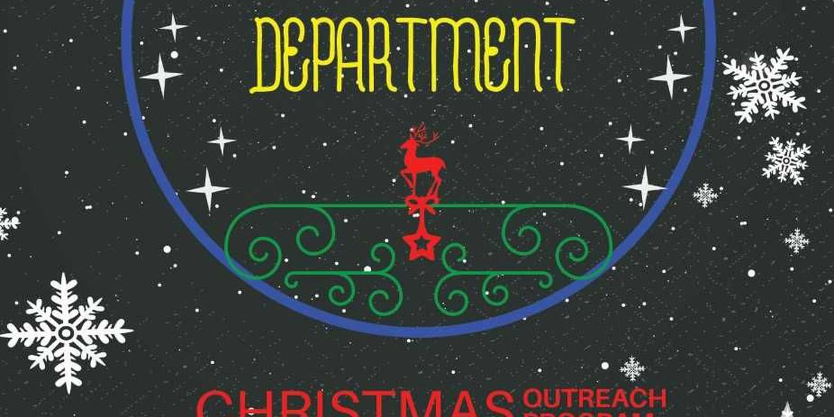 Summerville PD collecting Christmas gifts for children in need