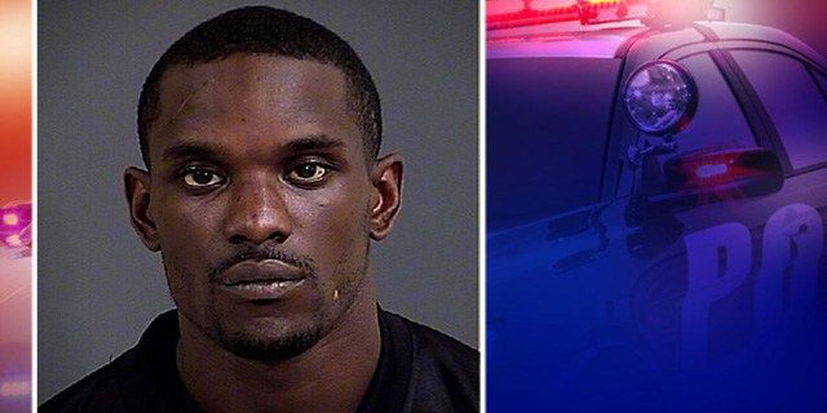 Police arrest Charleston man accused of pointing gun in victim's face