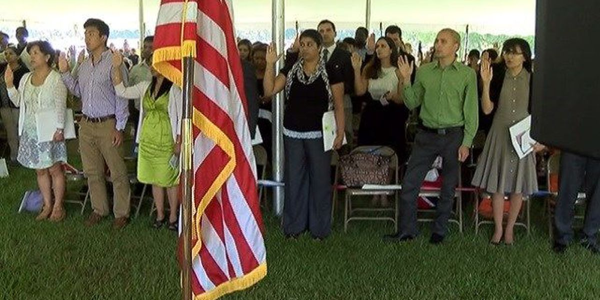Lowcountry to welcome 120 new U.S. citizens during naturalization ceremony