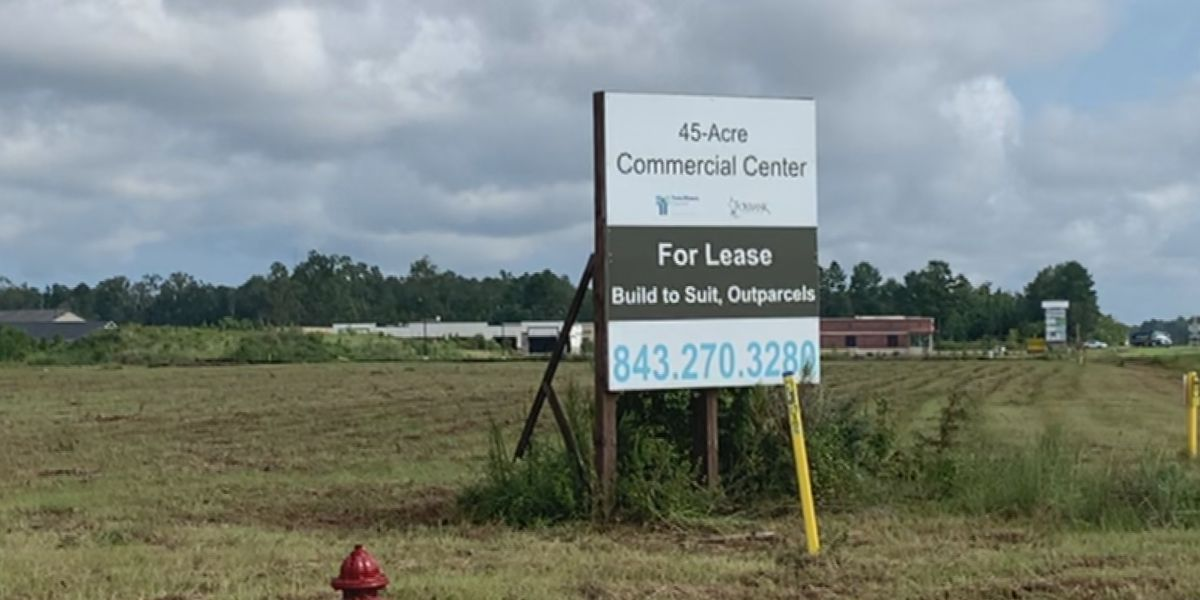 Moncks Corner working to bring new shopping center to town