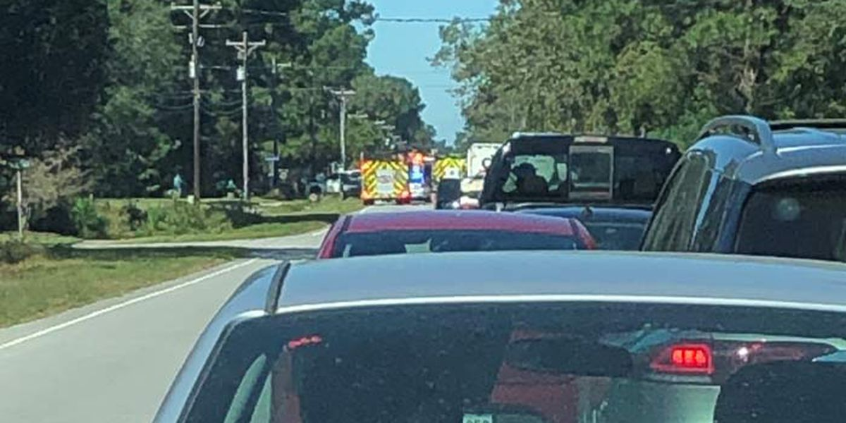 FIRST ALERT: Crash closes both directions of Hwy. 41 in Mt. Pleasant