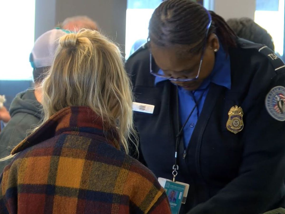 Charleston airport wait times normal as TSA agents work without pay during government shutdown