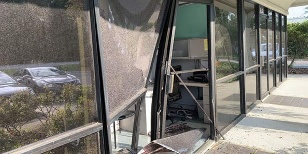 Vehicle crashes into North Charleston health clinic