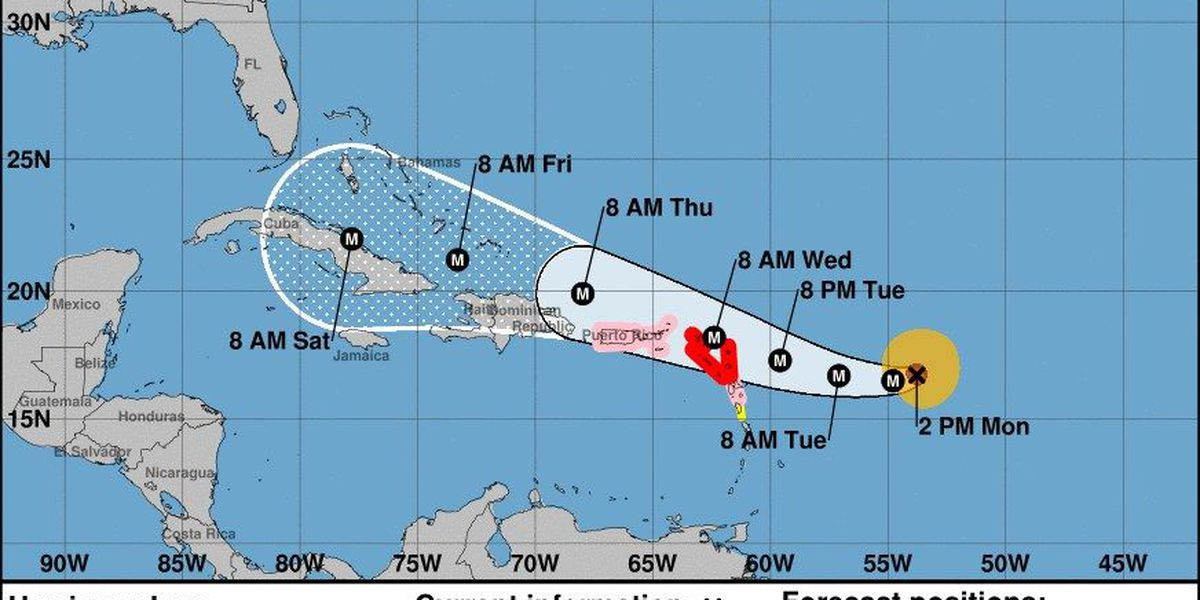 Fake Hurricane Irma forecasts circulating on social media