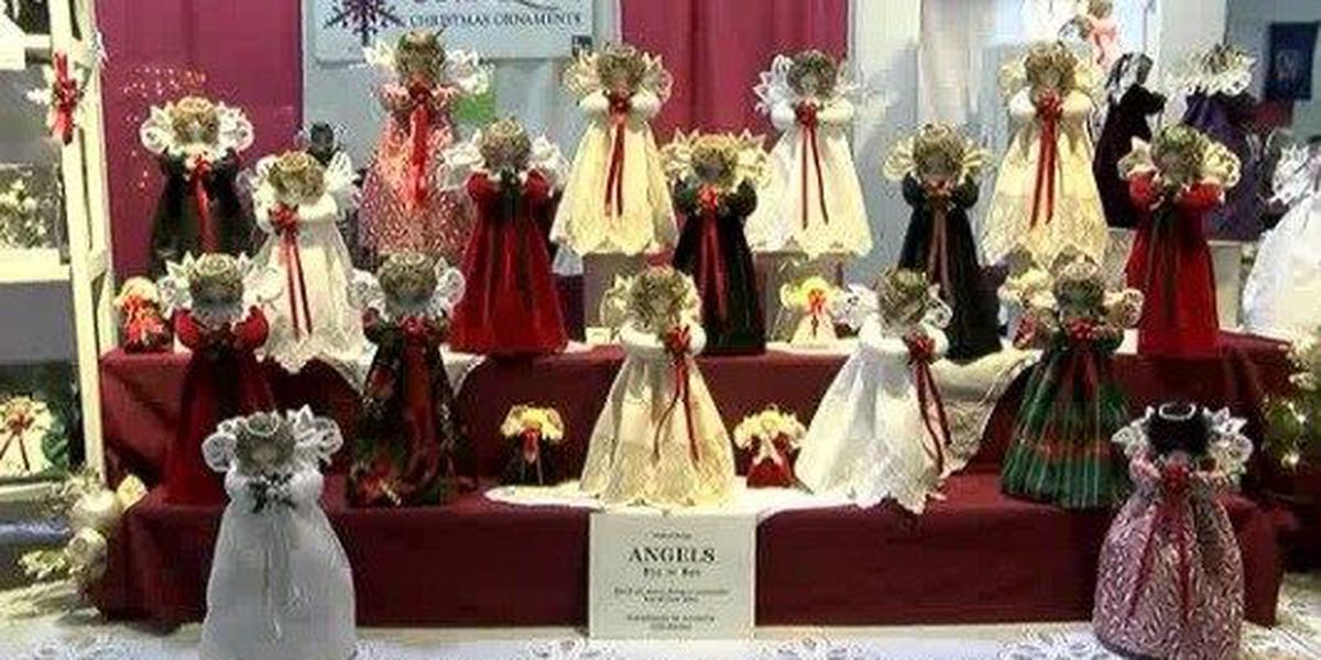 Find original ornaments and artwork at annual Christmas craft show