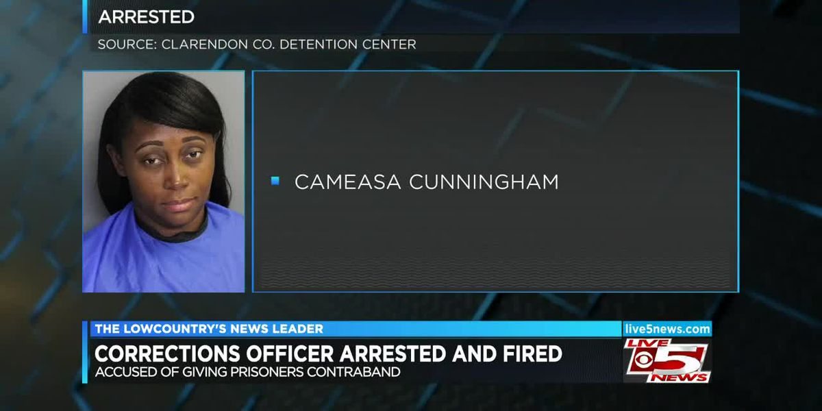 VIDEO: Kingstree woman accused of trying to sneak cigarettes, cell phones into Turbeville prison