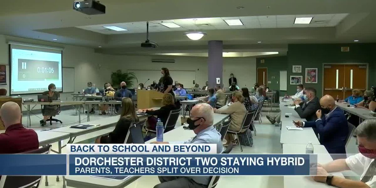 VIDEO: Dorchester District 2 continuing hybrid learning through Nov. 6