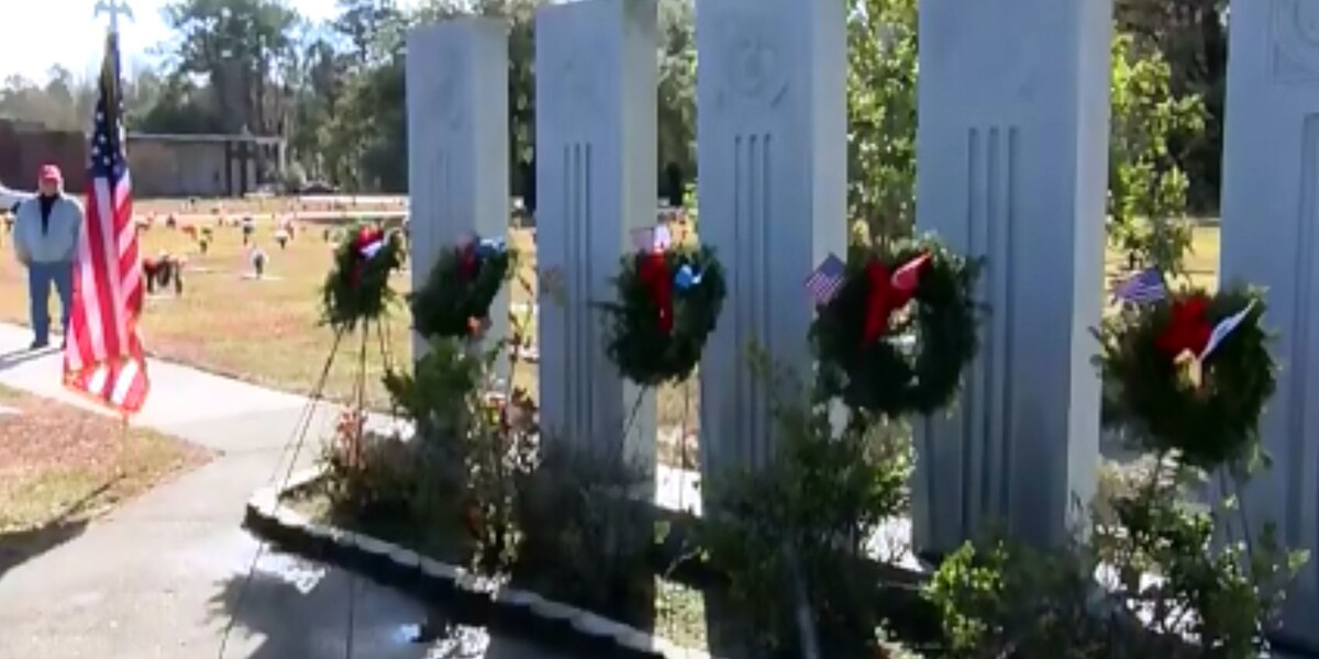 Lowcountry veterans hold Wreaths Across America ceremony