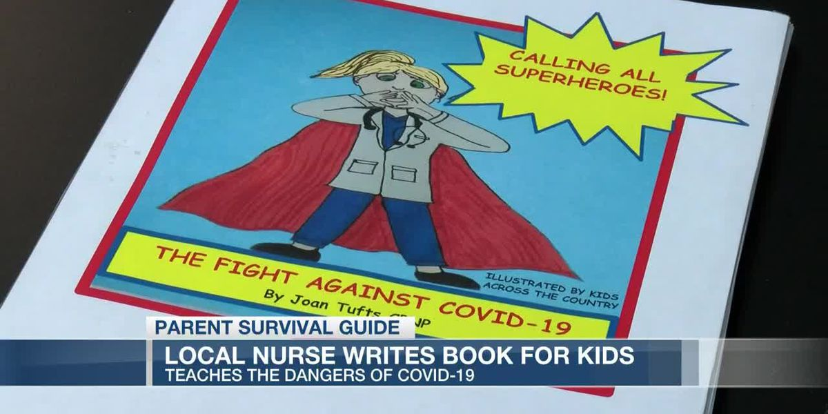VIDEO: Parent Survival Guide: Local Nurse writes book to teach kids how to fight COVID-19