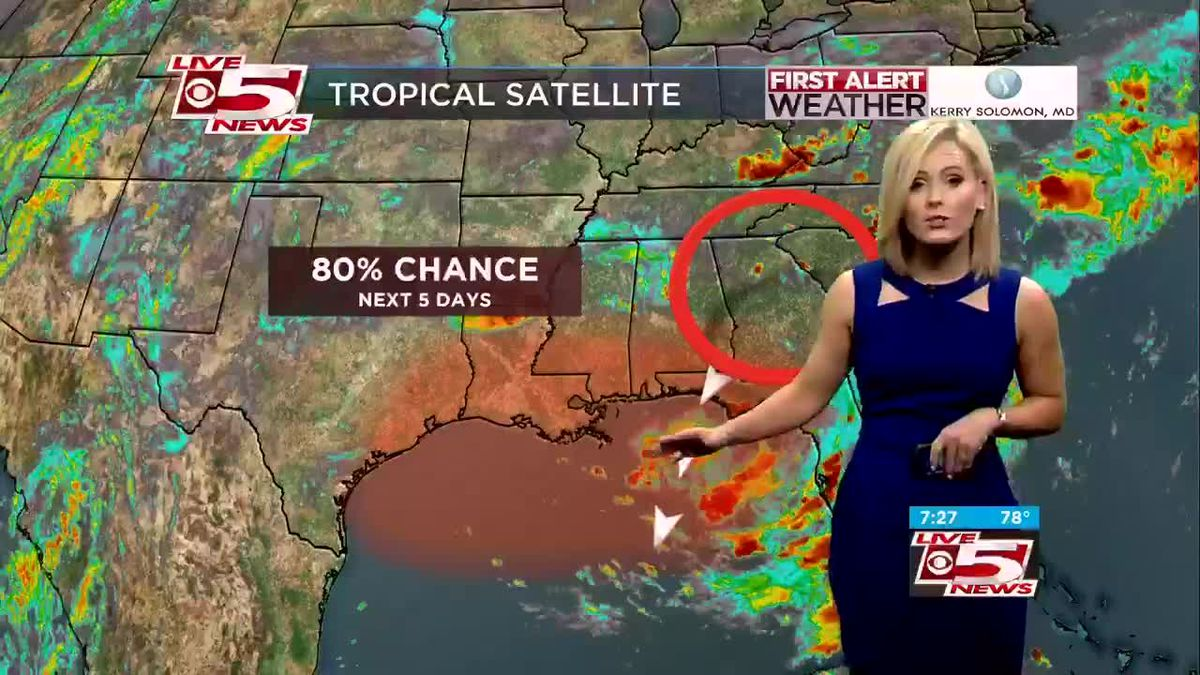 VIDEO: Tropical depression likely to form by week's end