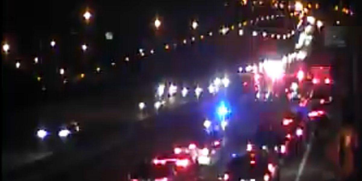Accident on Don Holt bridge Traffic backed up