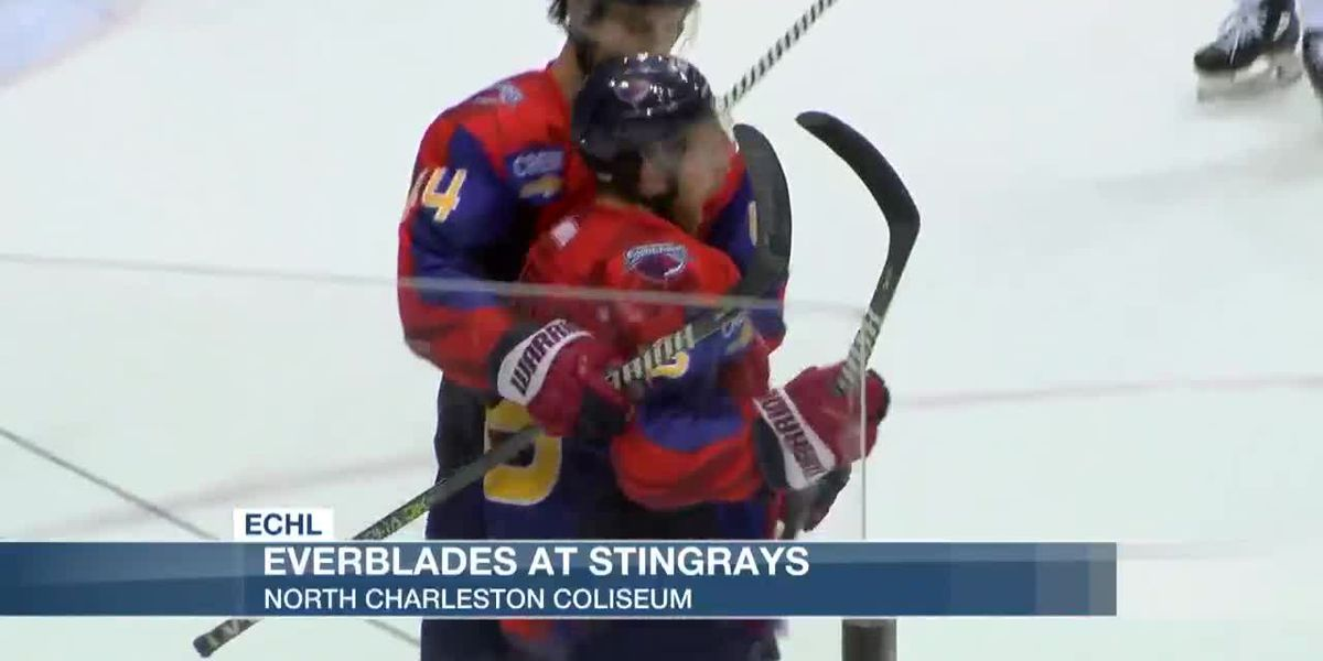 VIDEO: Everblades Sneak By Stingrays In Third