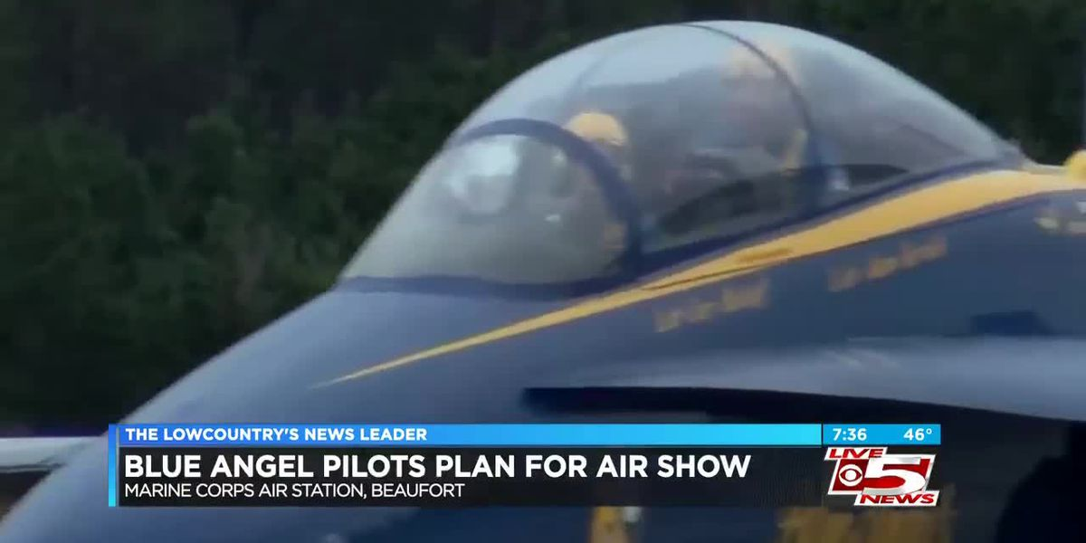 Blue Angels make winter visit to MCAS Beaufort ahead of 2019 air show
