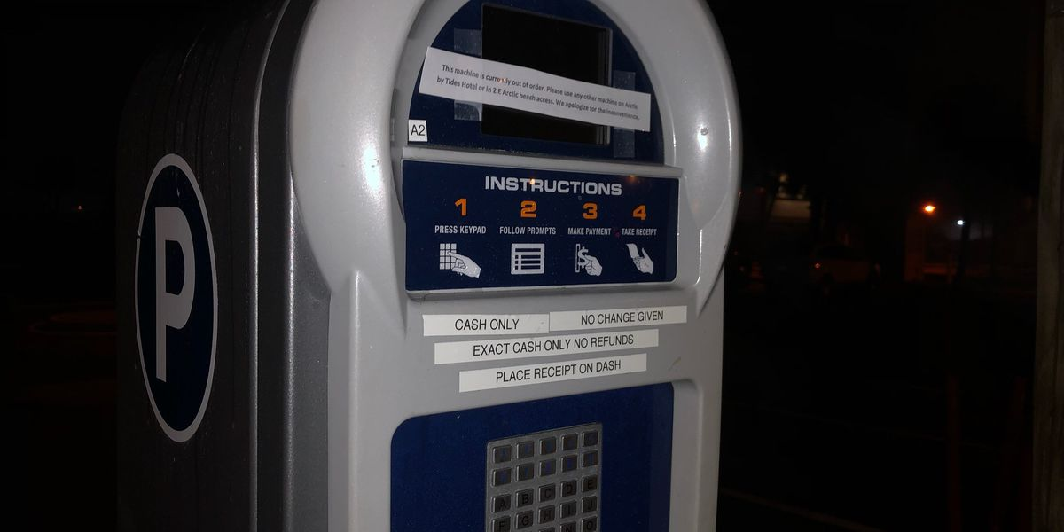 New parking machines that accept credit cards will be coming to Folly Beach