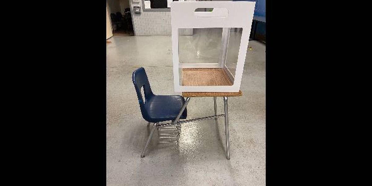 Plexiglass Partitions delivered to Colleton County schools