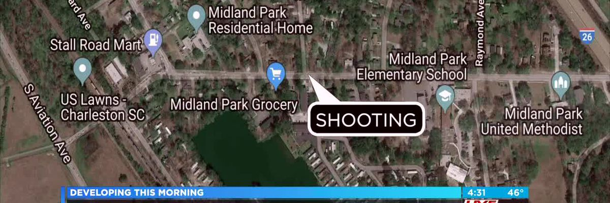 VIDEO: Police searching for suspect after man shot in the leg in North Charleston