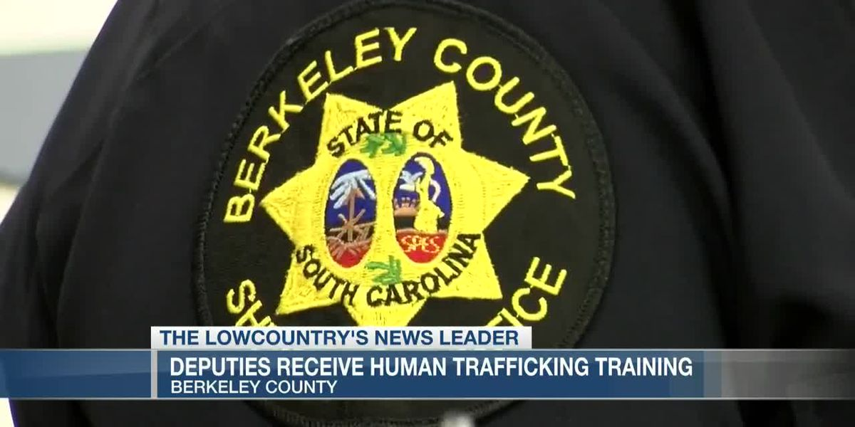 VIDEO: Berkeley County Sheriff's Office receives training to identify human trafficking