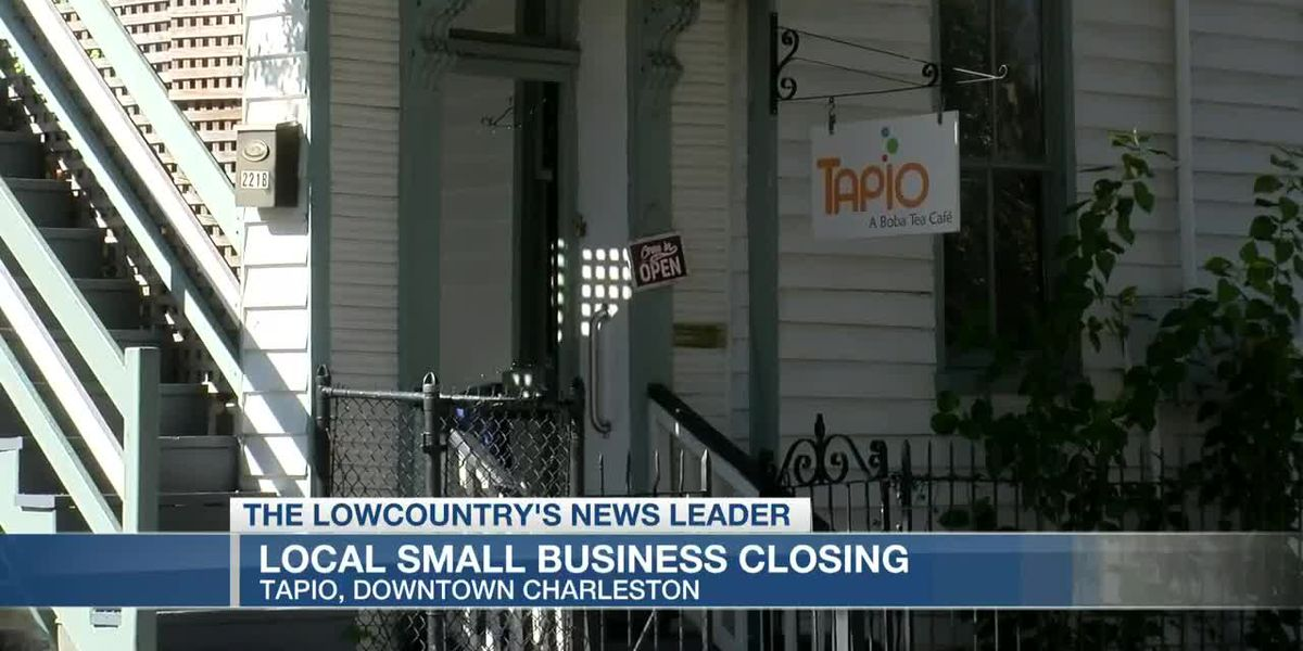 VIDEO: Charleston tea cafe among latest closures announced as pandemic slows business