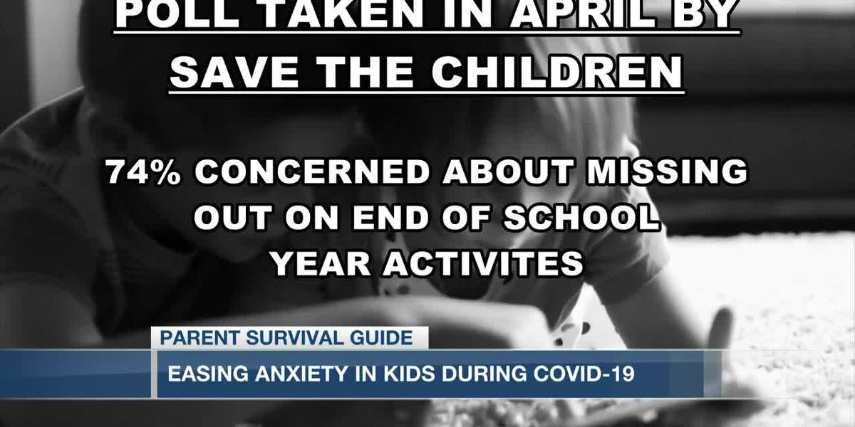 VIDEO: Parent Survival Guide: Helping anxious kids during COVID-19