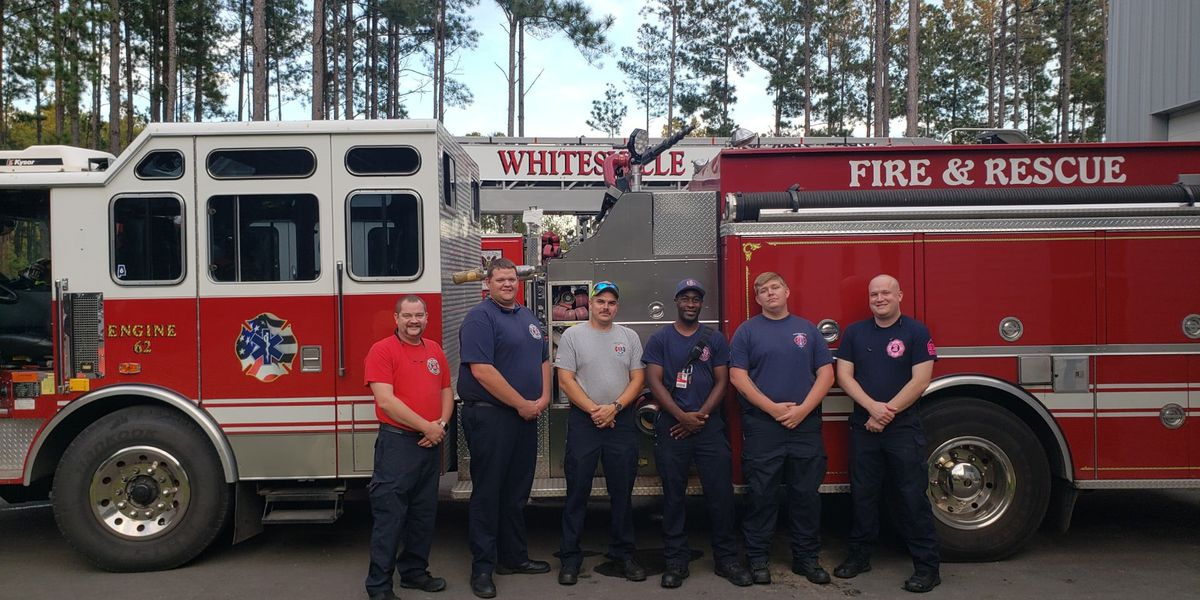 Lowcountry fire department helps in Sumter warehouse fire