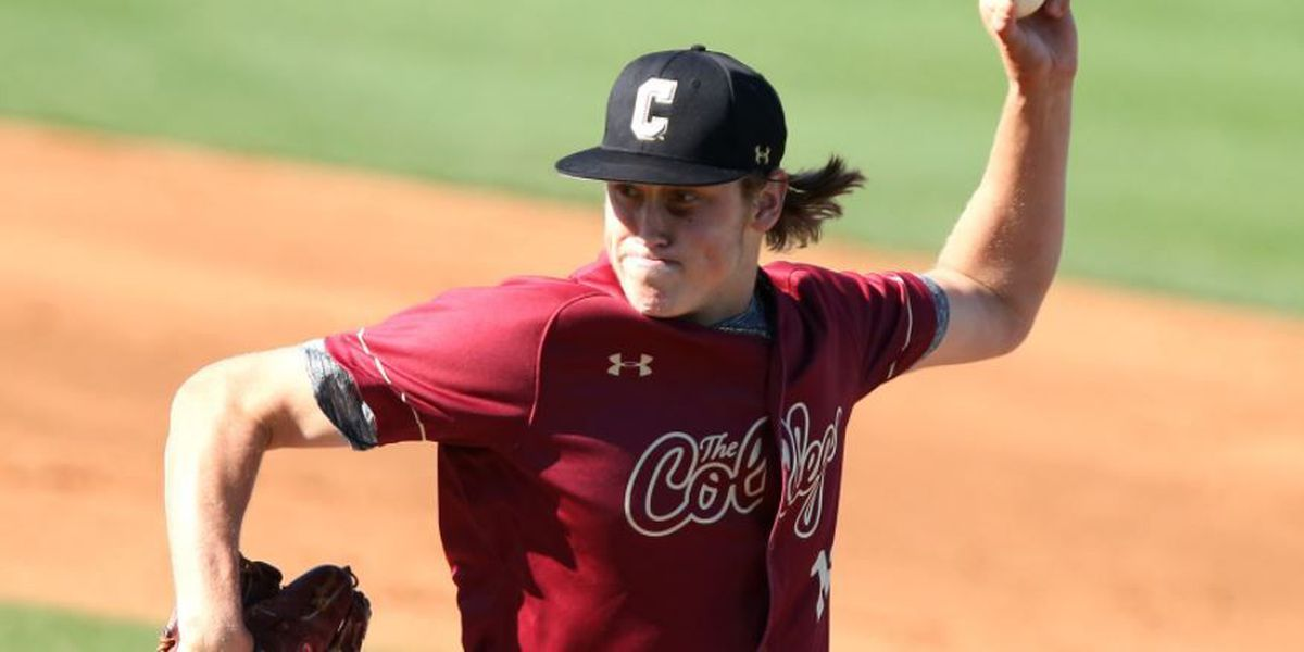 CofC's Sisk Snares CAA Pitcher Of The Week Accolades