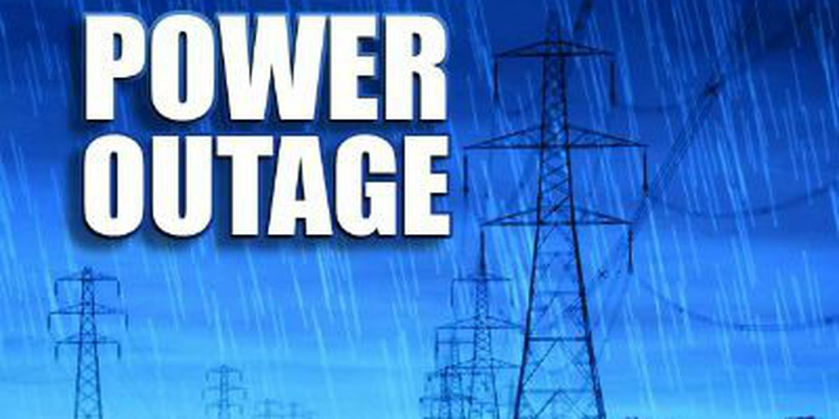 SCE&G reports thousands without power in Charleston Co.