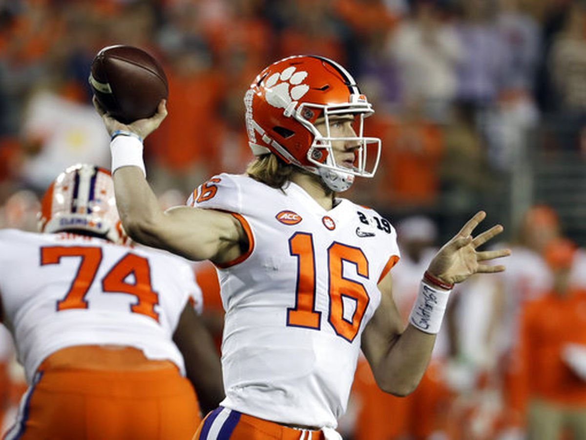 Clemson's Trevor Lawrence voted ACC Preseason Player of the Year