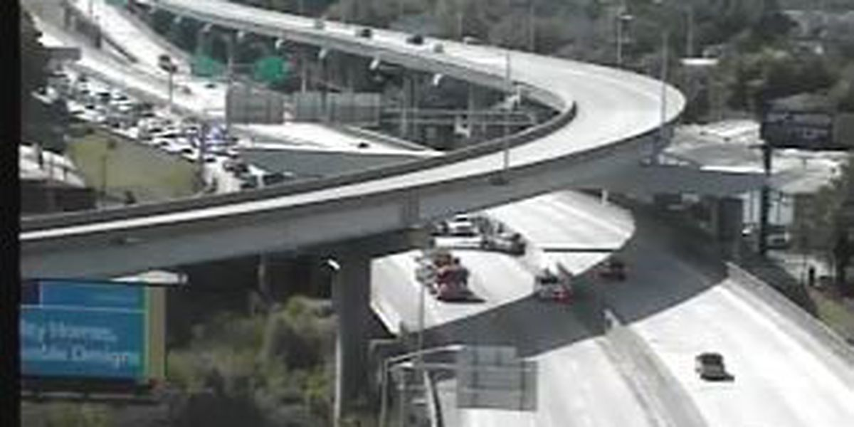 Emergency crews respond to accident near Exit 220
