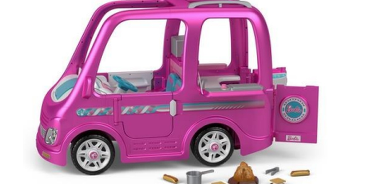 Fisher Price recalls 44,000 Power Wheels Barbie Dream Campers