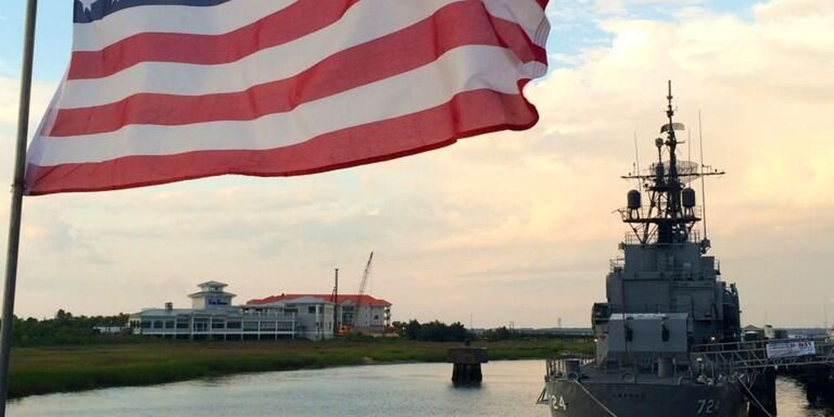 Warship at Patriots Point highlights the sacrifices of D-Day heroes