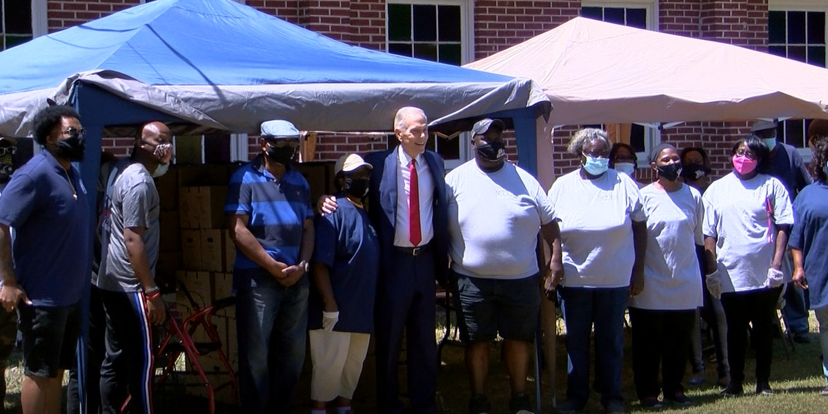 Local church, lawyer team up for food giveaway