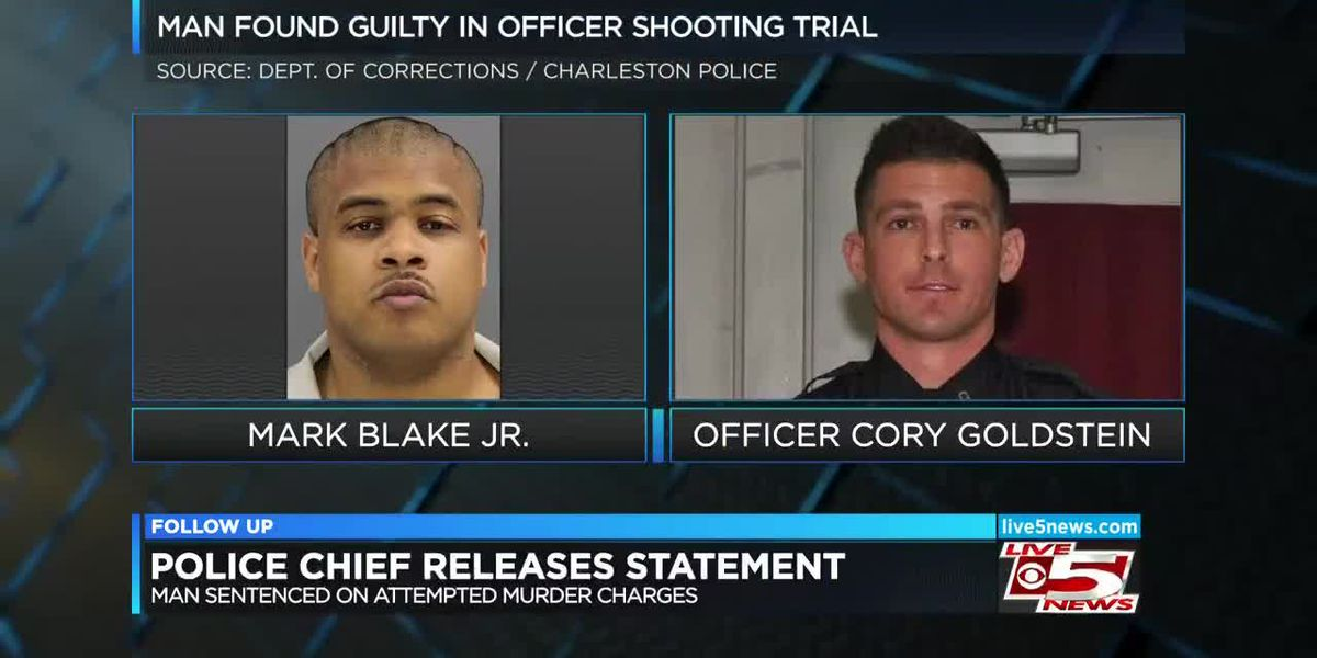 VIDEO: Charleston Police Chief issues statement on conviction of man who shot officer
