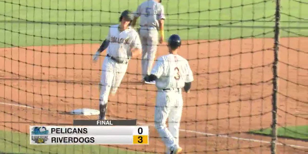 VIDEO: Dominant Pitching, Big Eighth Inning Lead RiverDogs past Pelicans 3-0