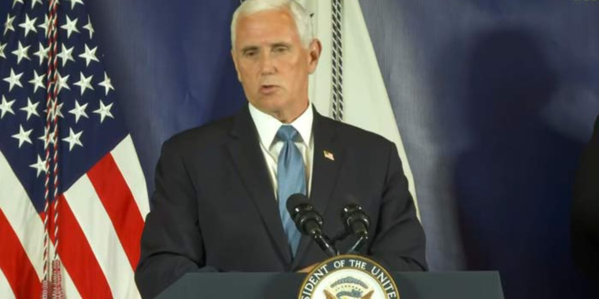 Pence: 'We think we can safely reopen schools' in S.C.