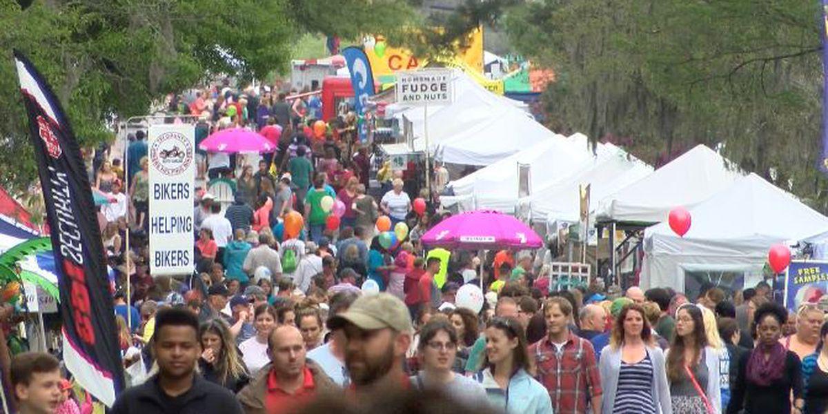 Preps underway for start of annual Flowertown Festival