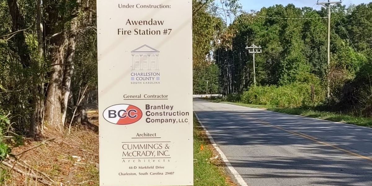 Construction officially begins on new Awendaw fire station