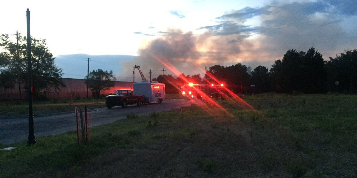 Firefighters remain on scene of N. Charleston warehouse fire into third day