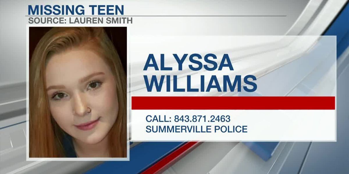 VIDEO: Police searching for missing Summerville teen