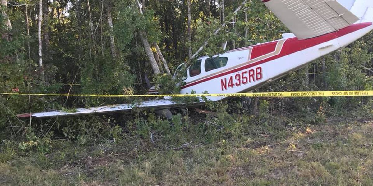 Single engine plane crashes at Georgetown Co. Airport