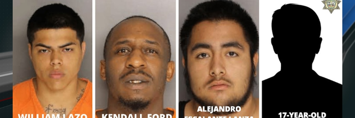 Four people arrested, charged with criminal sexual conduct with minor in Berkeley County
