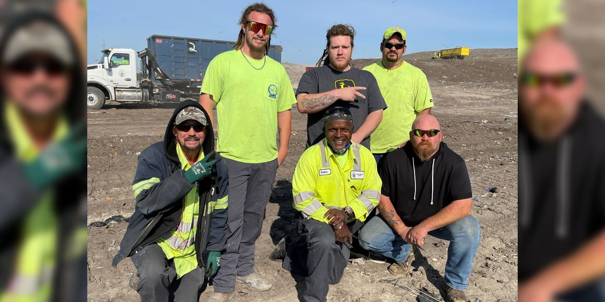 'It was truly a miracle': N.C. landfill crew helps find woman's rings that were mistakenly tossed