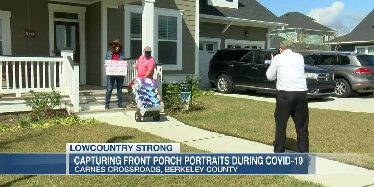 VIDEO: Lowcountry Strong: Neighbors take front porch portraits during coronavirus pandemic