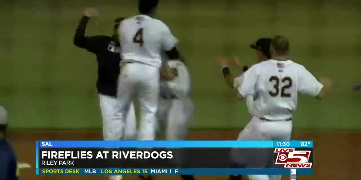 VIDEO: RiverDogs get walk-off win over Columbia for 2nd straight night