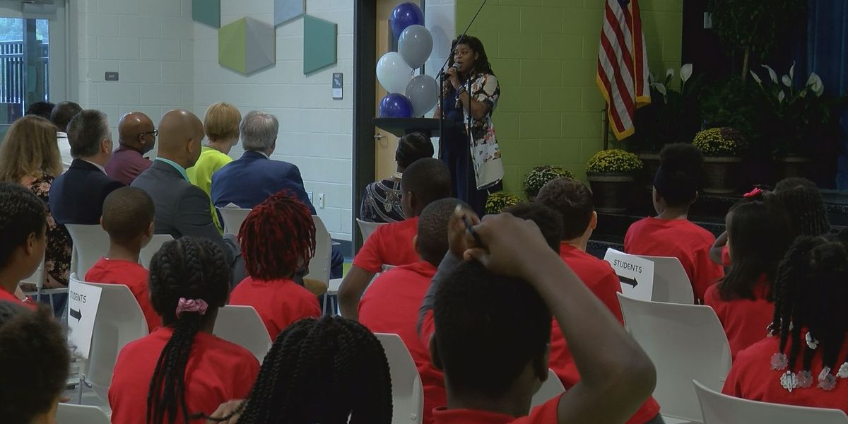 Dedication ceremony held at new elementary school in West Ashley