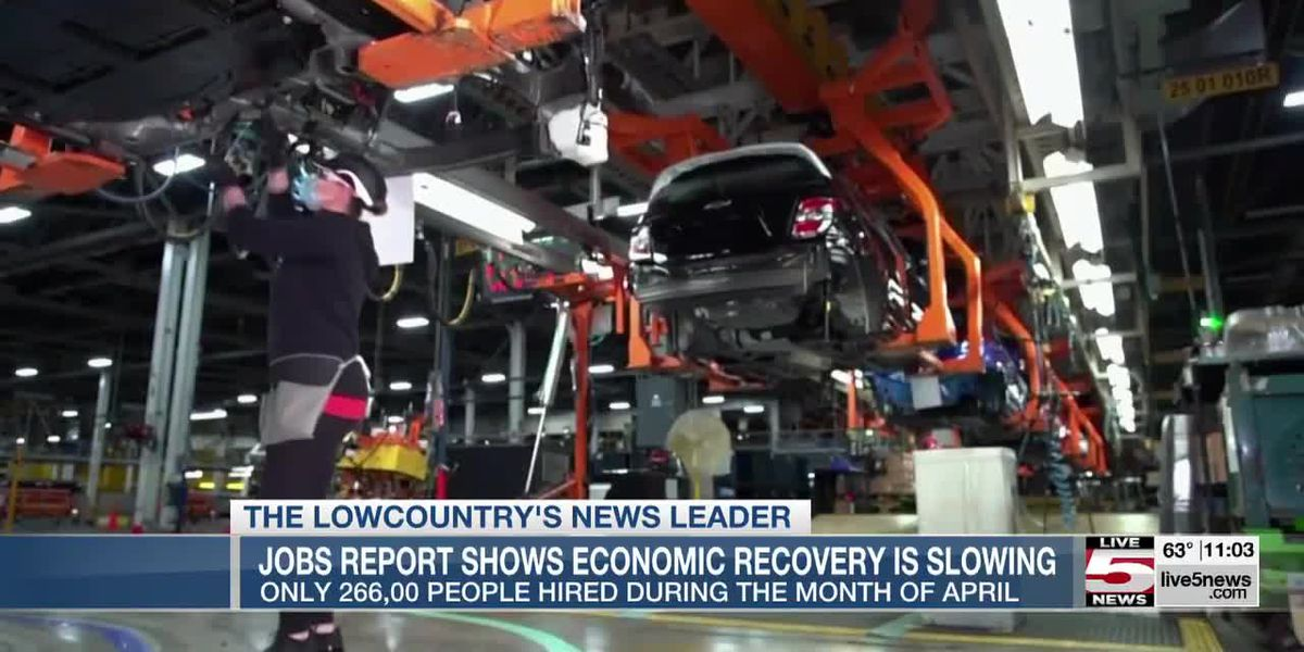 VIDEO: Jobs report shows economic recovery is slowing