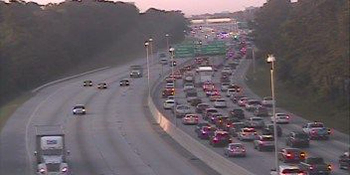 I-26 eastbound traffic moving again following 2 accidents