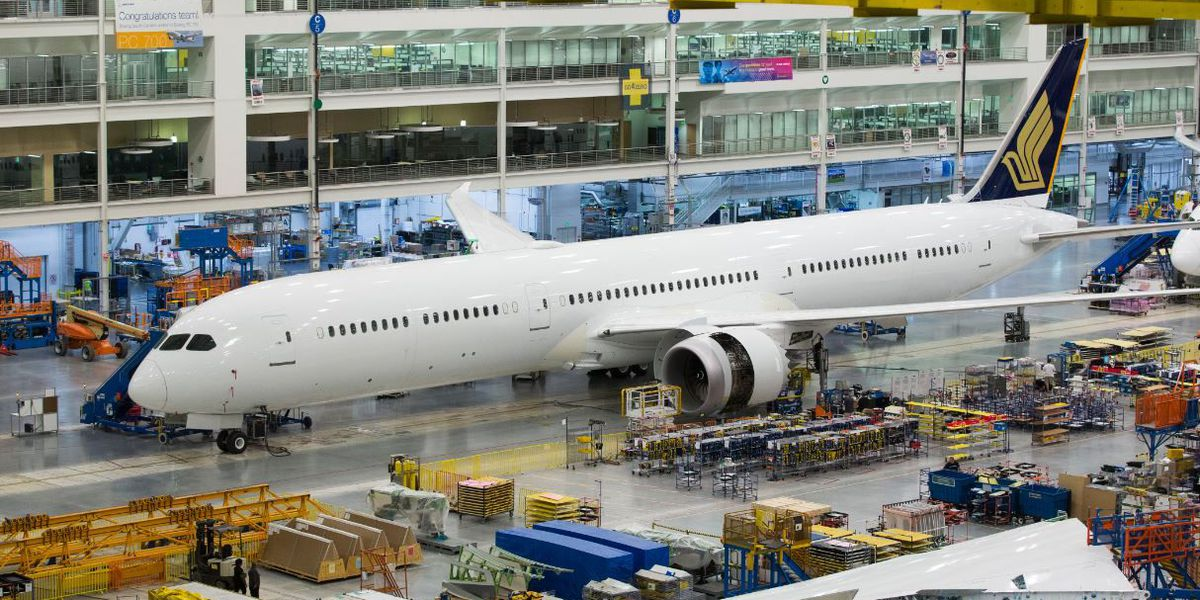 Boeing celebrates delivery of first SC-built 787-10 Dreamliner