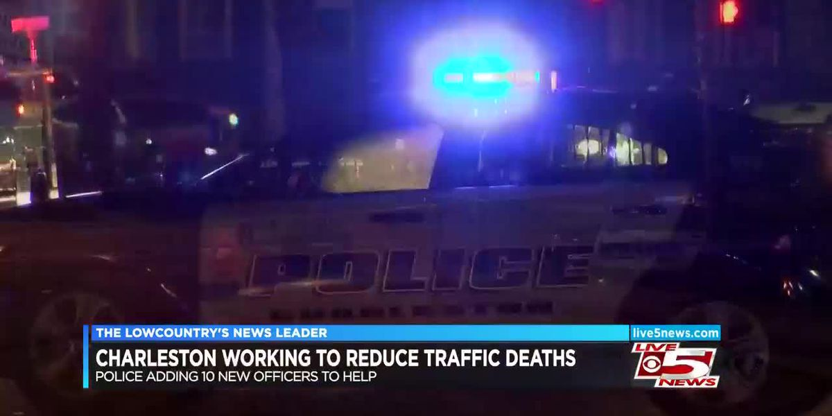 Charleston police working to reduce traffic deaths