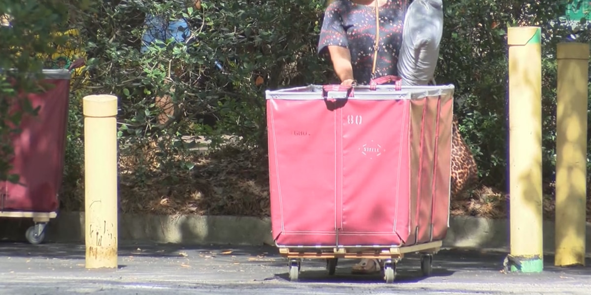 COVID-19 impacts on College of Charleston move-in weekend